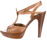 Bottega Veneta Intrecciato Platform Sandals