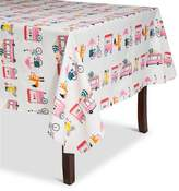 Summer Ice Cream PEVA Tablecloth - White
