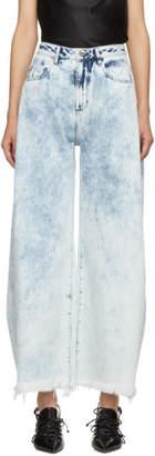 Marques Almeida Blue Denim Boyfriend Jeans