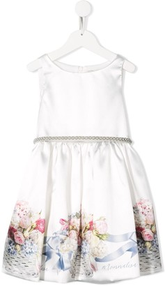 MonnaLisa Floral Detail Dress