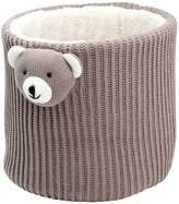 Elegant Baby Crochet Bear Storage