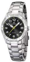 Calypso Women's K5209/2 Black Dial Yellow Accents Stainless Steel Bracelet Watch