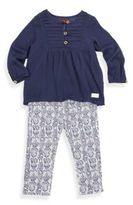 7 For All Mankind Baby's & Toddler's Tunic & Jeggings Set