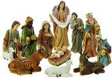 Asstd National Brand Holy Family & Three Kings 11 Piece Nativity Set