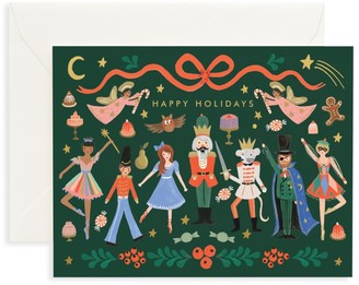 Rifle Paper Co. The Nutcracker 8-Piece Happy Holidays Note Card Set