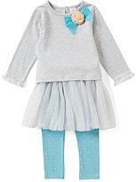 Starting Out Baby Girl 3-9M Top & Tutu Overlay Legging Set