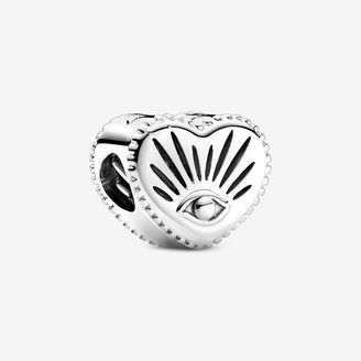 Pandora All-seeing Eye & Heart Charm