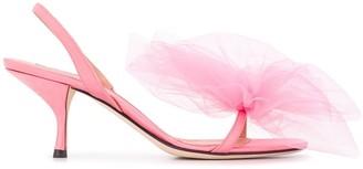 Marco De Vincenzo Bow Detail Sandals
