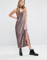 Glamorous Plisse Maxi Cami Dress