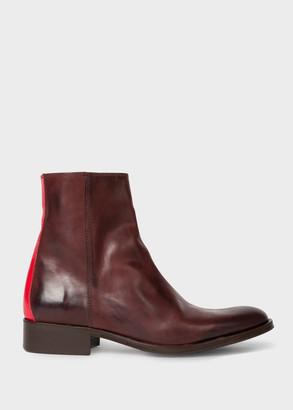 Paul Smith Women's Burgundy 'Adalia' Boots