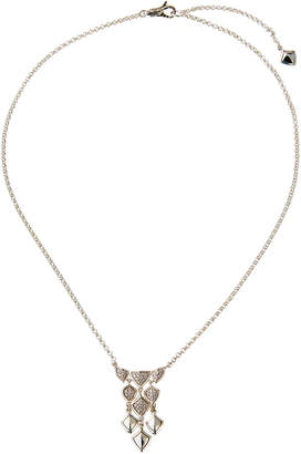 John Hardy Legends Naga Diamond Adjustable Mini Bib Necklace