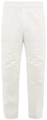 Ambush Oversized-pocket Straight-leg Jeans - White