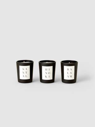 Brooklyn Candle Studio 3 Votive Set: Woods