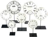 Twos Company Horology Clock Faces Figures (Set of 7)