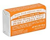 Dr. Bronner's Magic Soaps Pure-Castile Soap, All-One Hemp Tea Tree, 5-Ounce Bars (Pack of 6) by BEAUTY