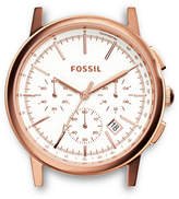 Fossil Rowen Chronograph Rose Stainless Steel Watch Case