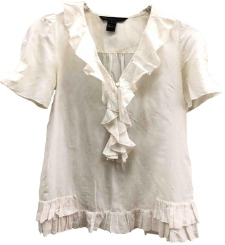 Marc by Marc Jacobs White Silk Top for Women