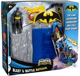 Mattel Batman power attack blast & battle batcave