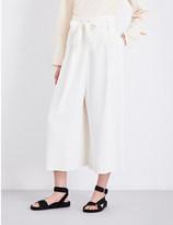 By Malene Birger Summer wide-leg high-rise woven trousers