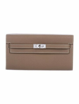 Hermes 2020 Epsom Kelly Wallet To Go w/ Tags