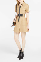 Alexander Wang Exposed Zip-Detailed Dress
