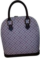 Louis Vuitton Red Cloth Handbag