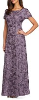 Alex Evenings Women's Embellished Lace Gown