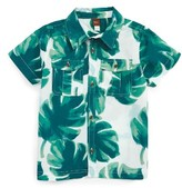 Tea Collection Boy's Palm Shirt