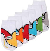 Trumpette Boys Skater Infant Ankle Socks - 6 pack -Multicolor