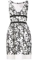 Carolina Herrera floral dress - women - Cotton/viscose - 2