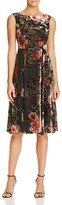 Betsey Johnson Floral Velvet Burnout Dress