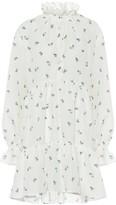 Philosophy di Lorenzo Serafini Floral cotton minidress