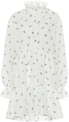 Philosophy di Lorenzo Serafini Floral cotton minidress