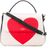 Kate Spade heart print tote bag - women - Leather/Polyester - One Size