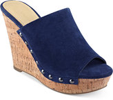 Marc Fisher Henrika Platform Wedge Slides