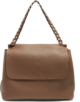 The Row Top Handle 14 leather shoulder bag
