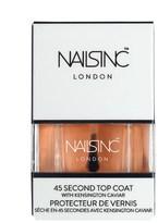 Nails Inc Gel Effect Kensington Caviar Top Coat