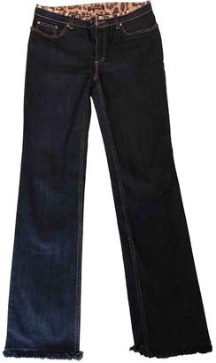 Roberto Cavalli Black Cotton - elasthane Jeans for Women Vintage