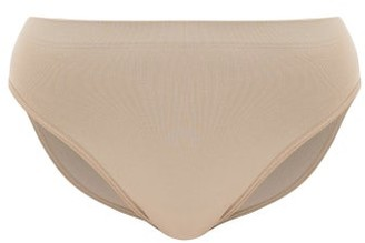 Hanro Touch Feeling Mid-rise Briefs - Light Brown