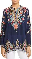Johnny Was Jessa Embroidered Tunic