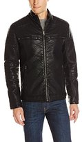 Buffalo David Bitton Buffalo by David Bitton Men's Turtle Zip Front Open Bottom