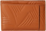 Marni Flower Embossed Leather Card Holder Wallet Handbags