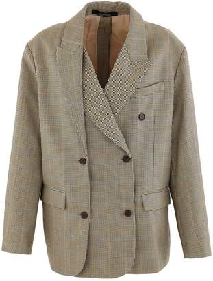 Rokh Woollen double-breasted blazer