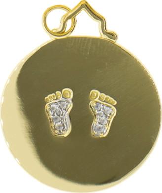 Monica Rich Kosann Baby Feet Charm