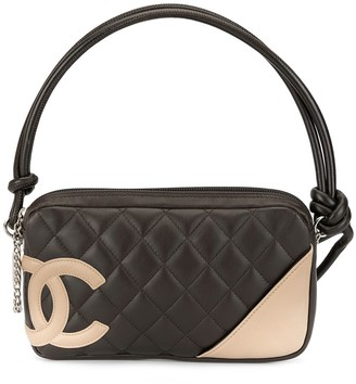 Chanel Pre Owned 2004 Cambon Line quilted hand bag