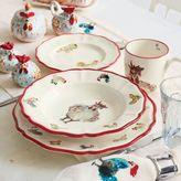 Sur La Table Jacques Pépin Collection 16-Piece Chickens Dinnerware Set