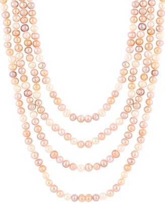 Masako 7-7.5MM Multicolor Pearl Necklace