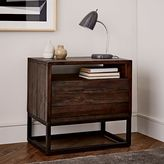 west elm Logan Nightstand - Smoked Brown