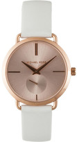 Michael Kors Portia White Watch