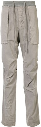 James Perse Drawstring-Waist Straight-Leg Cargo Pants